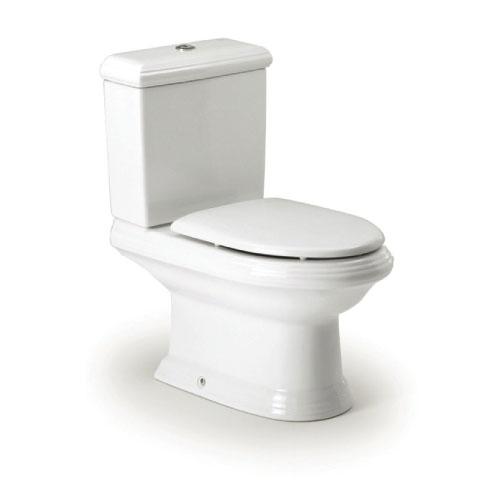 Roca America - WC mísa kombi, hluboké splachování, vario odpad, bez nádržky a sedátka A342497000