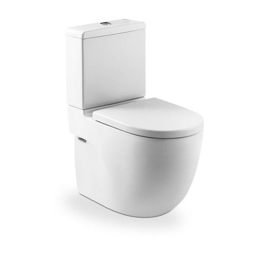 Roca Meridian Compact - kombi klozet +WC nádrž, hluboké splachování, vario odpad, bez sedátka A342248000+A341242000
