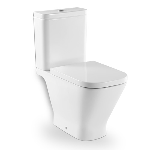 Roca the Gap - WC mísa kombi, hluboké splachování, vodorovný odpad, bez nádržky a sedátka A342477000