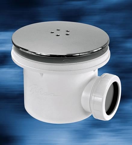 Sifon LUX 90 mm - víčko satén