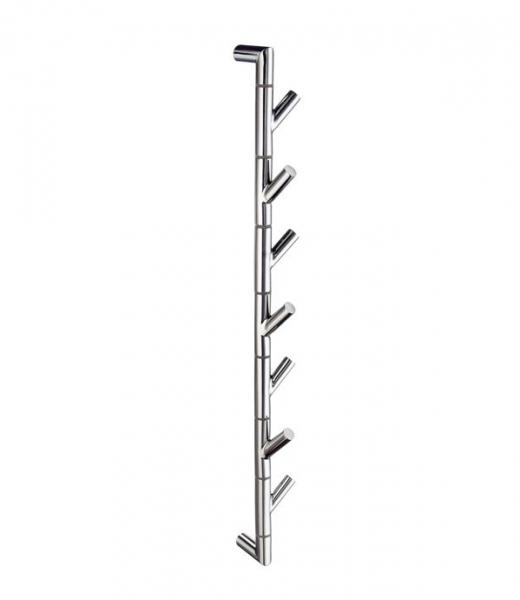 Smedbo Outline - držák ručníků otočný, leštěná nerez ocel FK630