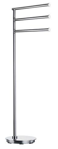 Smedbo Outline - držák ručníků, samostatně stojící, leštěná nerez ocel FK608