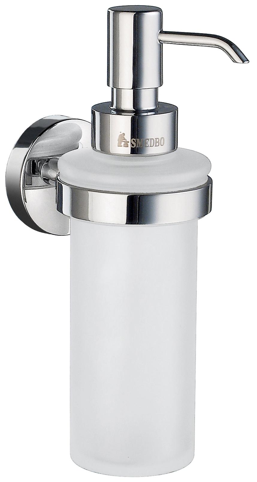 Náhradní pumpička pro dávkovač tekutého mýdla, chrom
