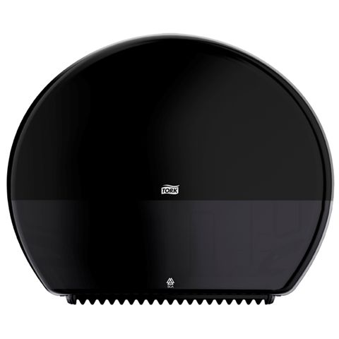 VÝPRODEJ T1 zásobník na toaletní papír Jumbo role - plast černý