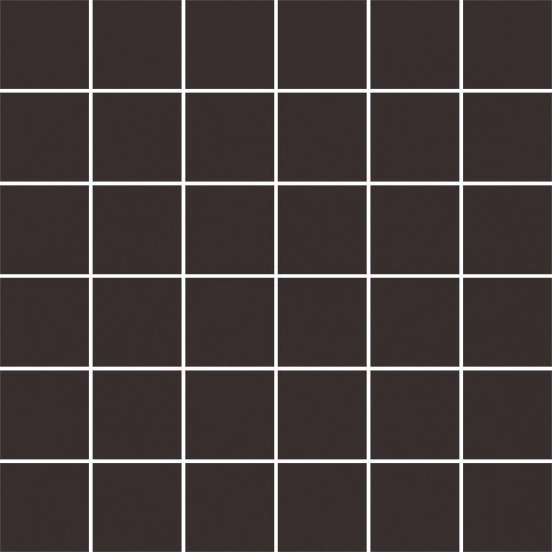Modernizm nero mozaika cieta - dlaždice mozaika 29,8x29,8 černá