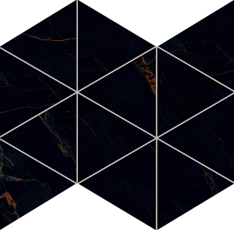 Inpoint - obkládačka mozaika 32,8x25,8 černá
