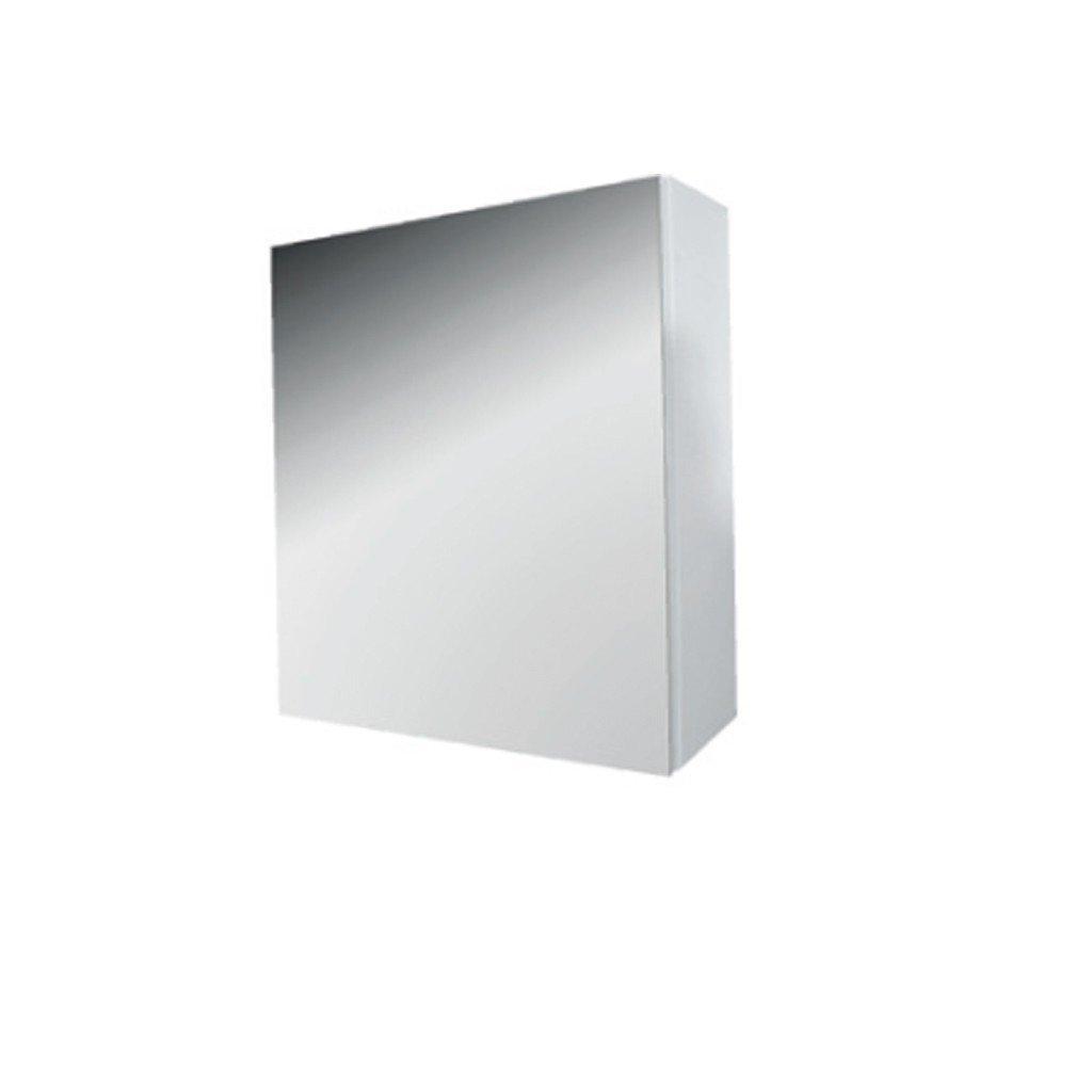 Ametyst - skříňka zrcadlová 45x49 cm pravá