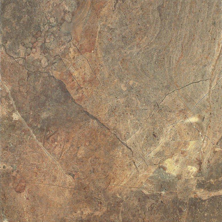 Rustyk brown - dlaždice 42x42 hnědá