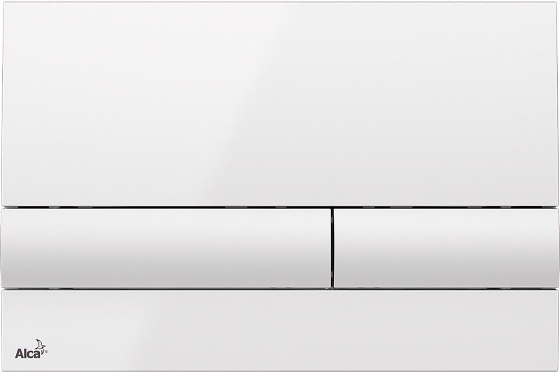 M1710 - WC ovládací tlačítko bílá