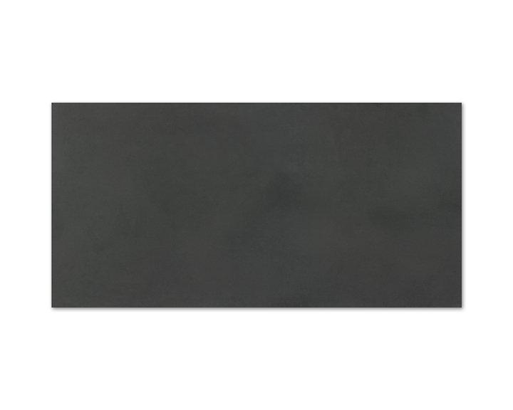 London Lapato Negro - dlažba rektifikovaná 50x100 černá lesklá