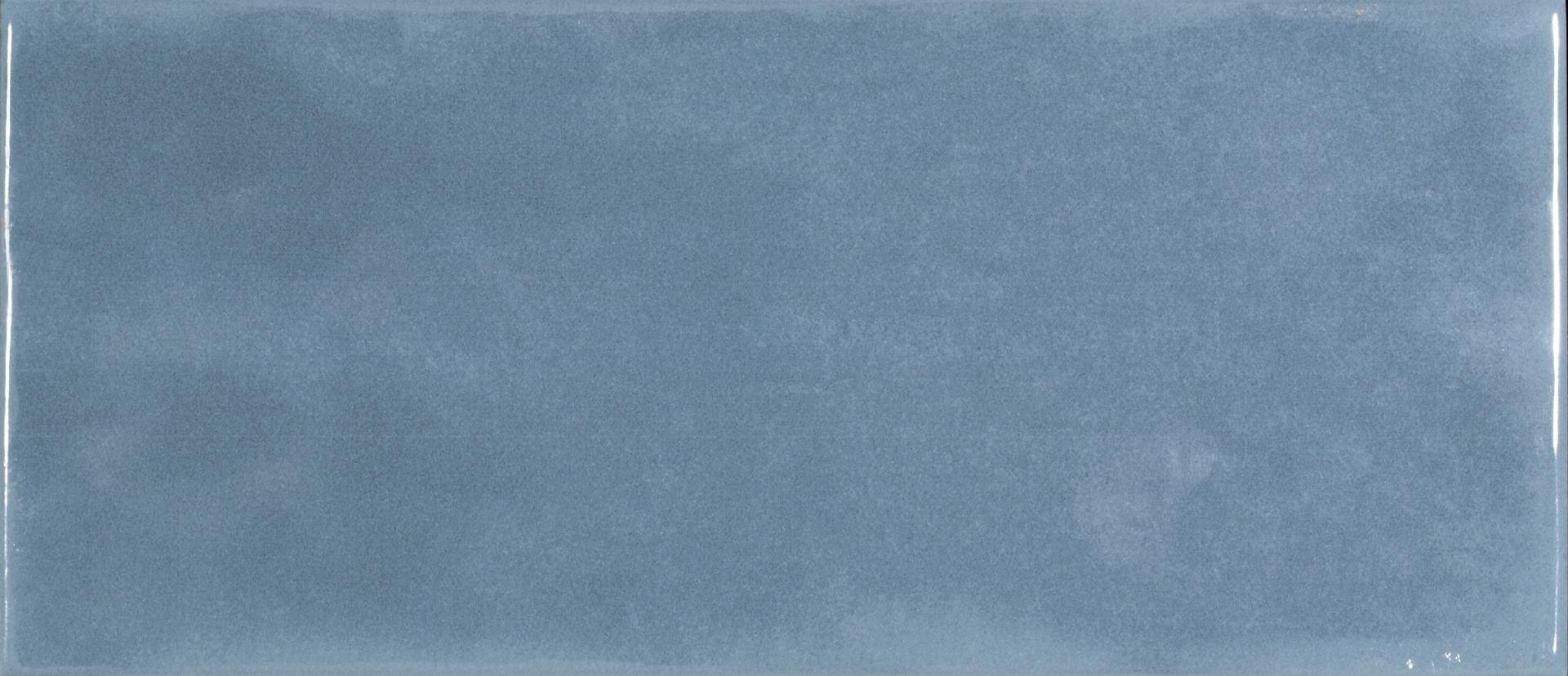 Maiolica Blue Steel - obklad 11x25 tyrkysová