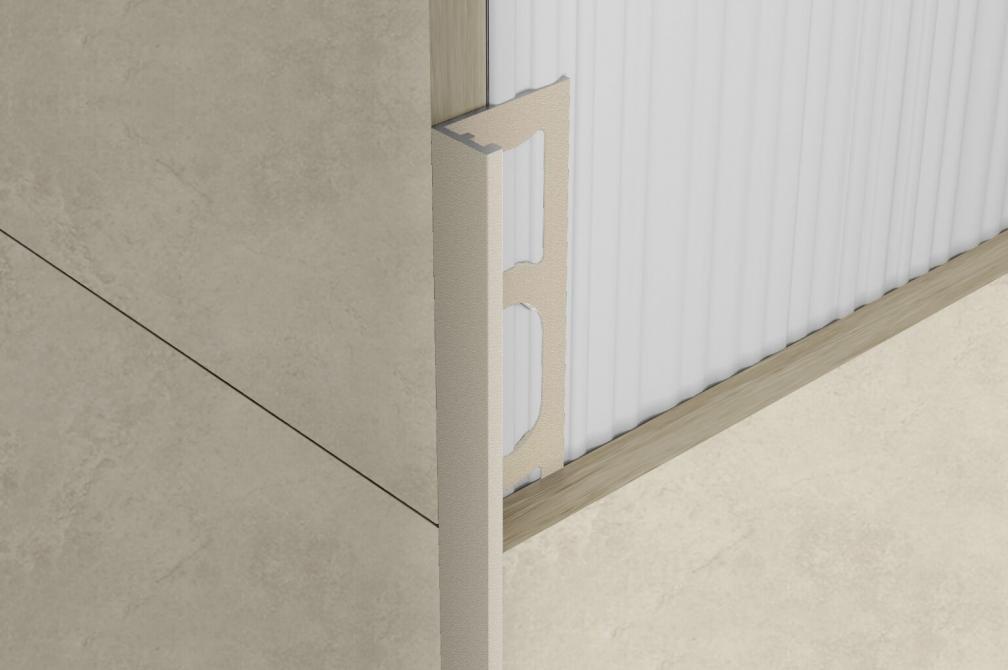 ZV/10 - profil pro venkovní roh, hliník greige 270 cm