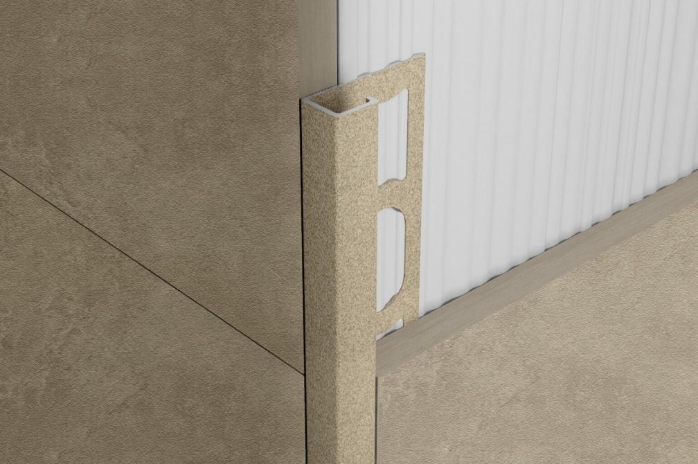 ZQVN/10 - profil pro venkovní roh, hliník černý 270 cm