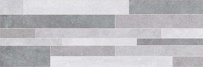 Luna Brick Antracite - obkládačka 25x75 šedá