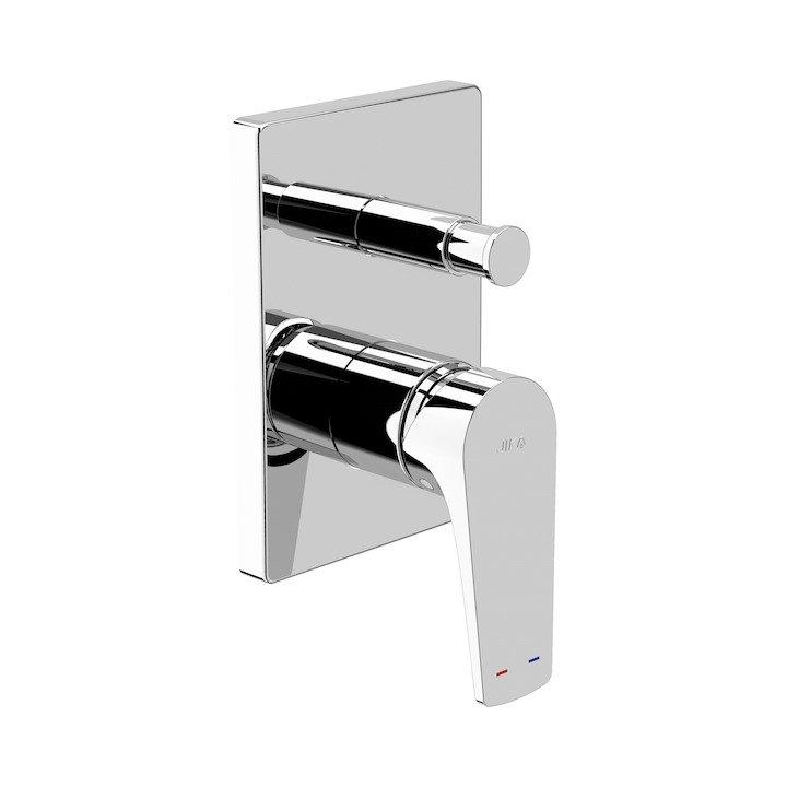 Cubito-N - vanová-sprchová podomítková baterie