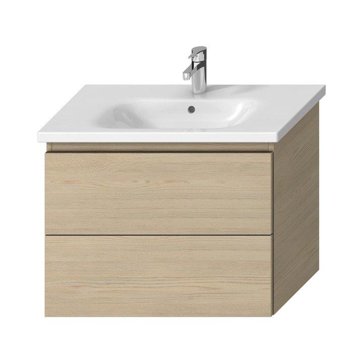 Mio-N - umyvadlová skříňka pro nábytkové umyvadlo 80 cm, jasan