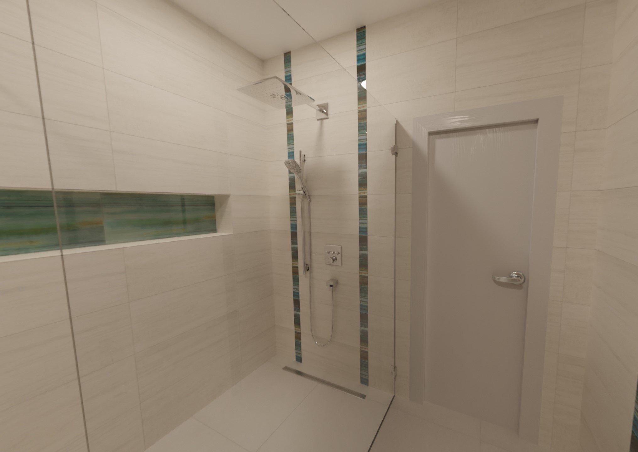 3D návrh - koupelna Laterizio Lateriz