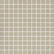 Rockstone grys mozaika cieta mat - dlaždice mozaika 29,8x29,8 šedá matná