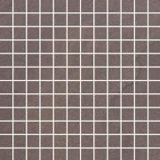 Rockstone umbra mozaika cieta mat - dlaždice mozaika 29,8x29,8 hnědá matná