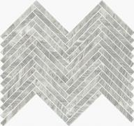 Imperial Lisca Satin Bardiglio - dlaždice mozaika 41,5x30 šedá